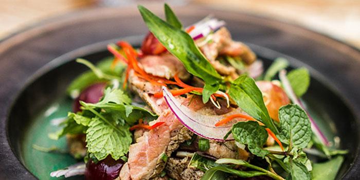 Pork Salad at Som Chai Bali
