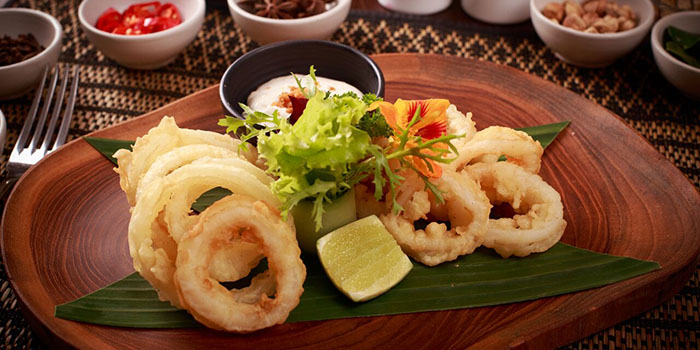 Calamary from Kayumanis Seaside Sanur at Sanur, Bali