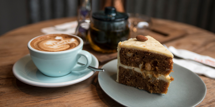 Carrot Cake from Luka Moto Cafe at TASTE Thonglor Soi 11 Sukhumvit 55, Wattana Bangkok