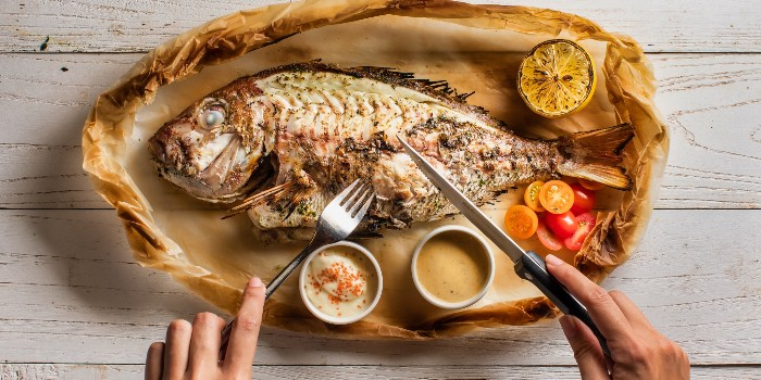 Chargrilled Whole Fish from Greenwood Fish Market @ Valley Point in River Valley, Singapore