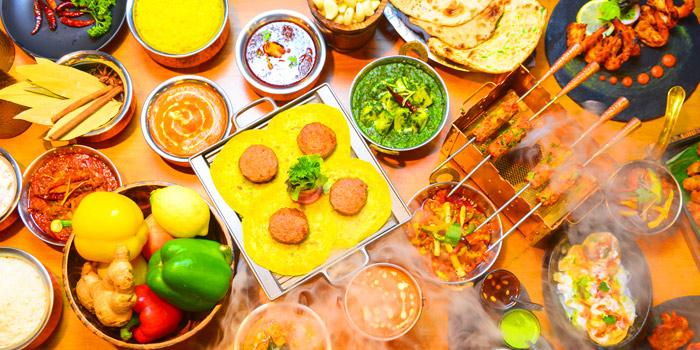 Selection of Food from Kebabs & Kurries Restaurant at 265/2 Soi Sukhumvit 31 Khlong Toei Nuea, Khet Watthana Bangkok