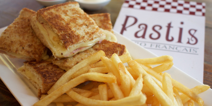 Croque Monsieur, Pastis French Bistro, Central, Hong Kong