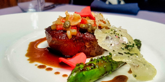 Beef Tenderloin from ALBA 1836 Italian Restaurant in Duxton, Singapore