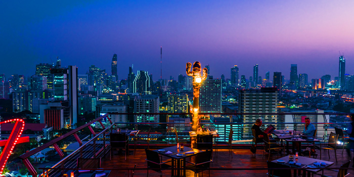 Dining Area of The Roof Gastro at Siam@Siam Design Hotel Bangkok 865 Rama 1 Road Wang Mai, Patumwan Bangkok