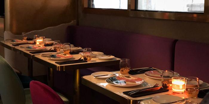 Dining Area, Fools & Magicians, Central, Hong Kong