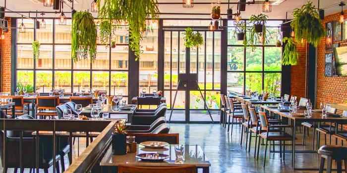 Ambience of Thyme Eatery & Bar at 411/2 Nang Linchi Rd Chong Nonsri Yannawa, Bangkok