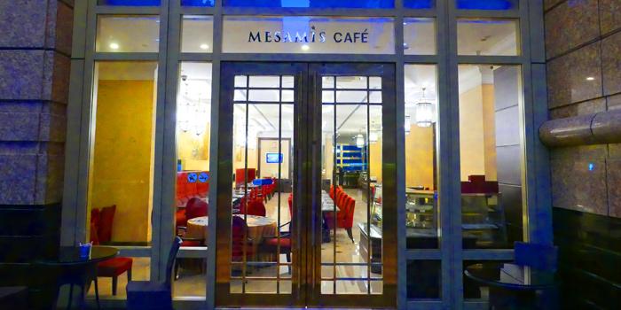 Entrance of Thai Thai by Mesamis Cafe at Grande Centre Point Hotel Soi Mahat Lek Luang 1, Ratchadamri Road Bangkok