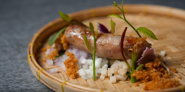 Esarn Sausage from TAAN Bangkok at Siam@Siam Design Hotel Bangkok 865 Rama 1 Road Wang Mai, Patumwan Bangkok