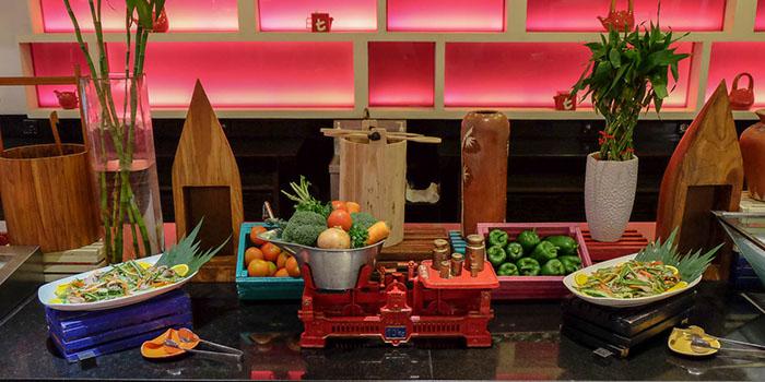Buffet Menu from Feast Restaurant at Kuta, Bali