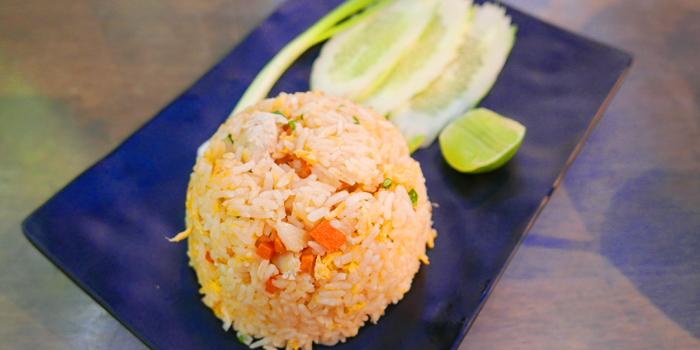 Fried Rice from The Dishes Seafood & Restaurant at 2194 Charoen Krung Rd Wat Phraya Krai, Bang Kho Laem Bangkok