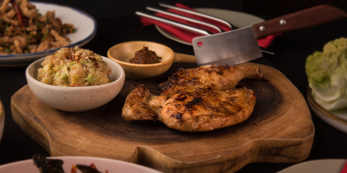Grilled Chicken from Funky Lam Kitchen at TASTE Thonglor Soi 11 Sukhumvit 55, Wattana Bangkok