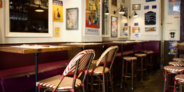 Interior, Pastis French Bistro, Central, Hong Kong