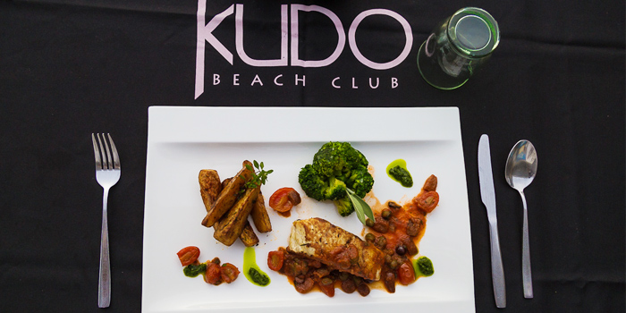Italian Dish2 from Kudo Beach Club & Italian Restaurant in Patong, Phuket, Thailand.