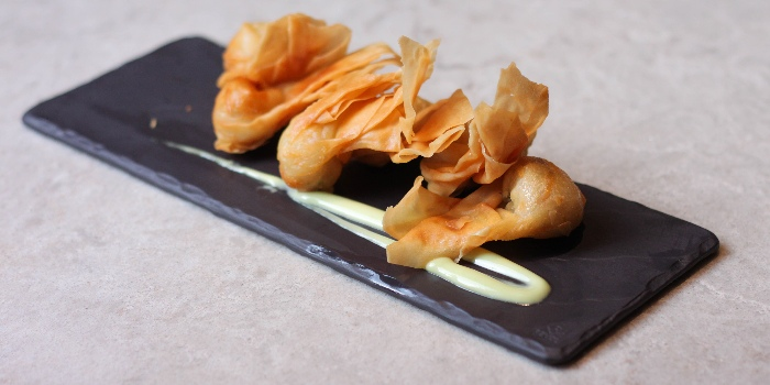 Crispy Shrimp Wanton from TCC @ OSC in Orchard, Singapore