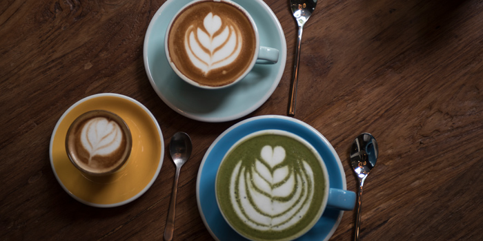 Latte Selection from Luka Moto Cafe at TASTE Thonglor Soi 11 Sukhumvit 55, Wattana Bangkok