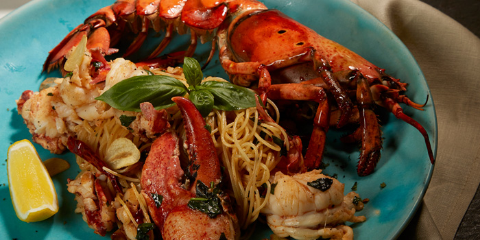 Lobster Chili Garlic from Thyme Eatery & Bar at 411/2 Nang Linchi Rd Chong Nonsri Yannawa, Bangkok