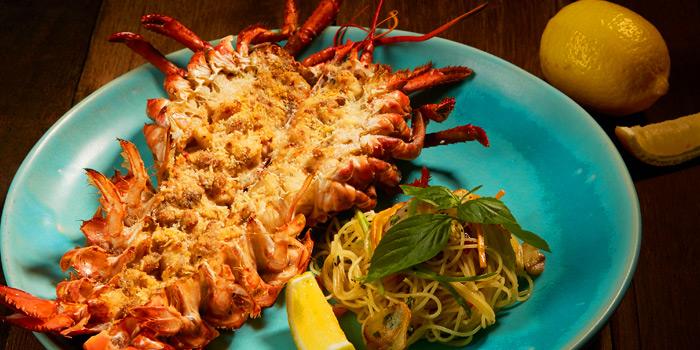 Lobster Thermidor from Thyme Eatery & Bar at 411/2 Nang Linchi Rd Chong Nonsri Yannawa, Bangkok