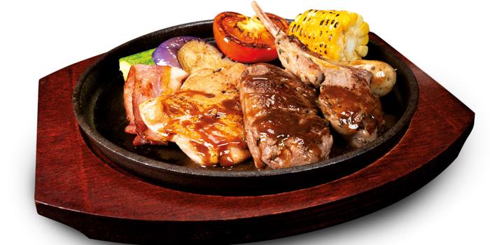 Mixed Grill, Mall Café, Tsim Sha Tsui, Hong Kong