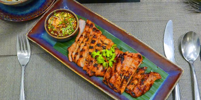 Moo Yang Jim Jaew from Thai Thai by Mesamis Cafe at Grande Centre Point Hotel Soi Mahat Lek Luang 1, Ratchadamri Road Bangkok