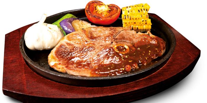 NZ Legof Lamb Steak, Mall Café, Tsim Sha Tsui, Hong Kong