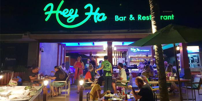 Night outdoor from Heyha Bar & Restaurant in Kamala, Phuket, Thailand