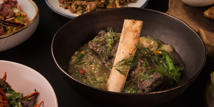 Or Lam Seen from Funky Lam Kitchen at TASTE Thonglor Soi 11 Sukhumvit 55, Wattana Bangkok