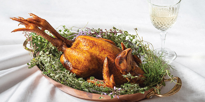 Roasted Chicken from The White Rabbit serving Modern European cuisine in Dempsey, Singapore