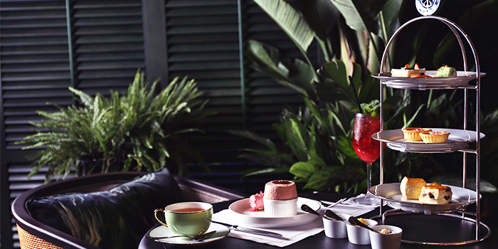 High Tea Spread from Tea Lounge at Regent Singapore in Tanglin, Singapore