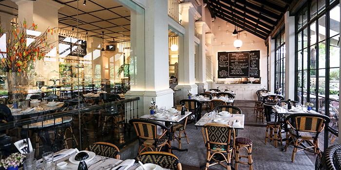 Veranda of Chopsuey Cafe Dempsey in Dempsey, Singapore