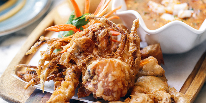 Chilli Soft Shell Crab from Chopsuey Cafe Dempsey in Dempsey, Singapore