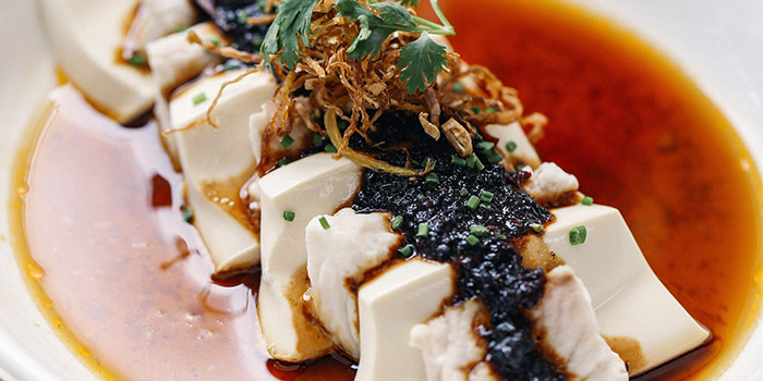 Steamed Lasagna of Snapper & Tofu from Chopsuey Cafe Dempsey in Dempsey, Singapore