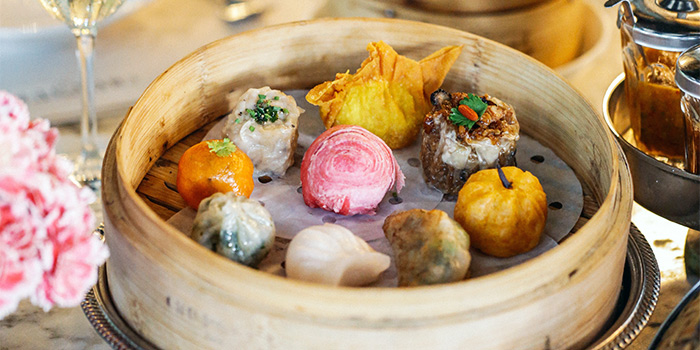 Dim Sum Basket from Chopsuey Cafe Dempsey in Dempsey, Singapore