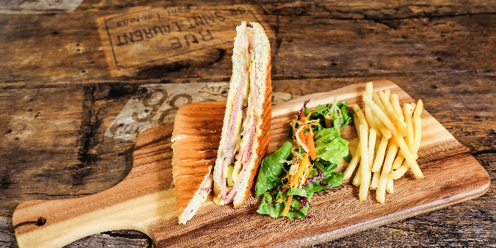 Cuban Sandwich from Cuba Libre Cafe & Bar (Frasers Tower) in Tanjong Pagar, Singapore