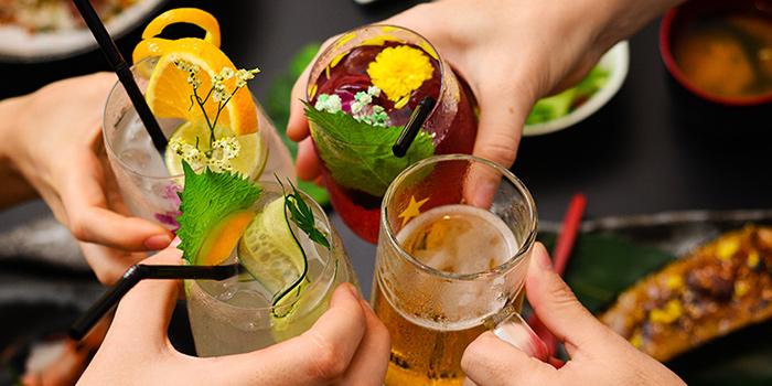 Sake-based Cocktails from Don & Tori at Tras Street in Tanjong Pagar, Singapore
