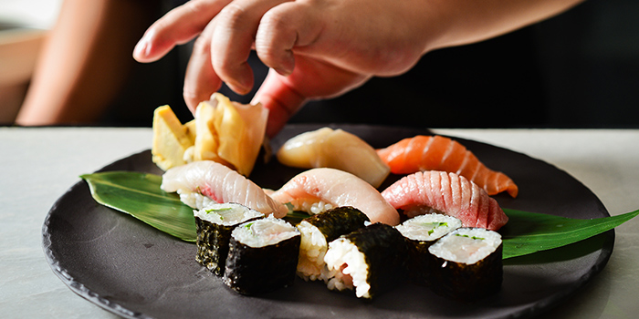 Sushi Set from Don & Tori at Tras Street in Tanjong Pagar, Singapore