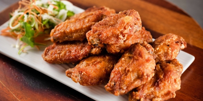 Chicken Wings from Fusion Kitchen & Bar at The Punggol Settlement in Punggol, Singapore