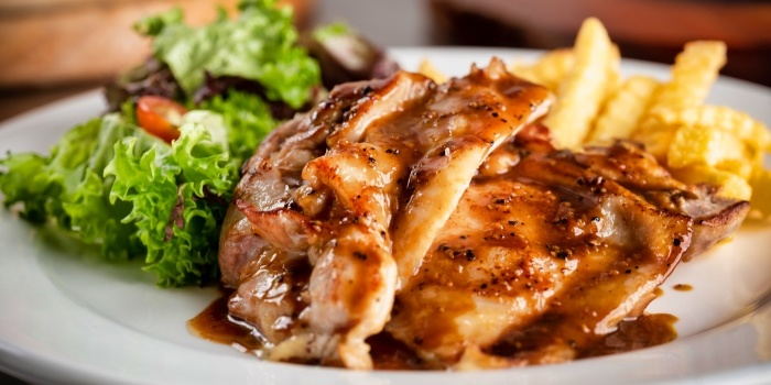 Teriyaki Chicken Chop from Fusion Kitchen & Bar at The Punggol Settlement in Punggol, Singapore