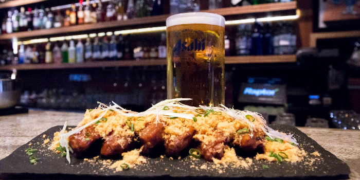 Wings and Beer from Gem Bar in Club Street, Singapore