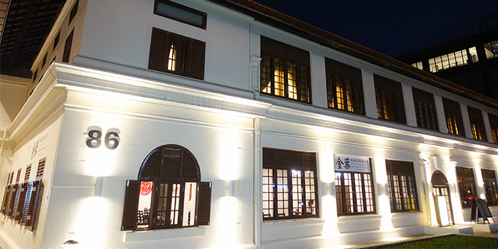 Exterior from Goldleaf Restaurant (Katong) in Katong, Singapore