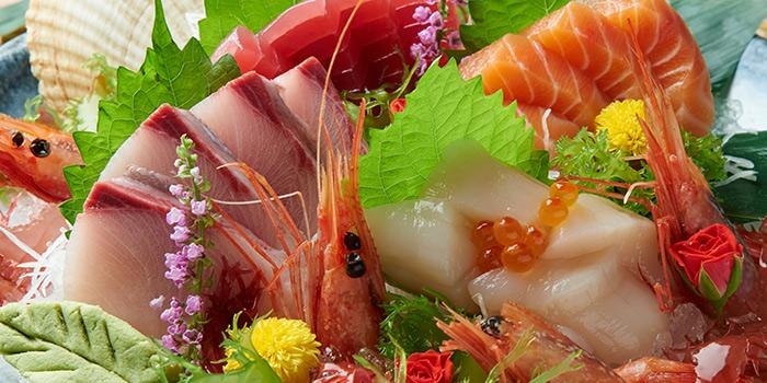 5 Kind Sashimi from Hokkai Villa in Telok Ayer, Singapore