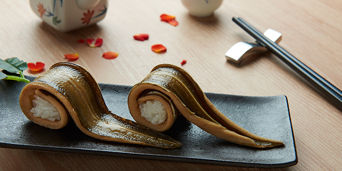 Anago Sushi from Hokkai Villa in Telok Ayer, Singapore