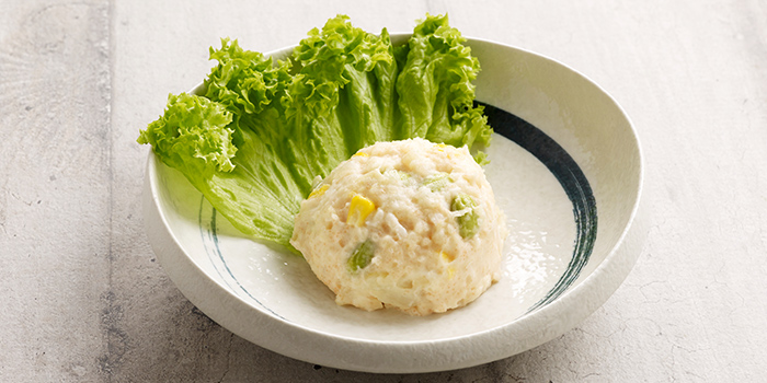 Hokkaido Mentaiko Potato Salad with Edamame from Hoshino Coffee (Chinatown Point) in Chinatown Point in Chinatown, Singapore