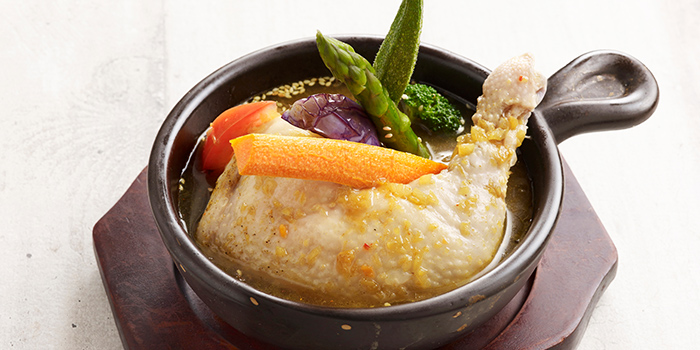 Hokkaido Soup Curry Chicken from Hoshino Coffee (Bedok Point) at Bedok Point in Bedok, Singapore Pancake