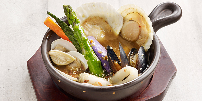 Hokkaido Soup Curry Seafood from Hoshino Coffee (Bedok Point) at Bedok Point in Bedok, Singapore Pancake
