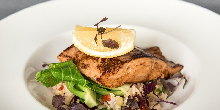 Atlantic Salmon On A Bed Of Warm Rice Salad from Jones the Grocer in Dempsey, Singapore