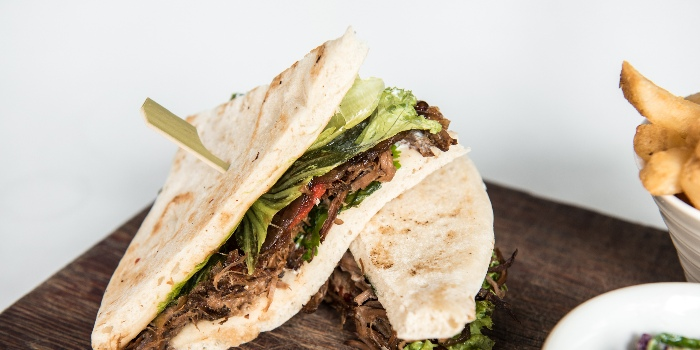 Spiced Lamb Flatbread from Jones the Grocer in Dempsey, Singapore