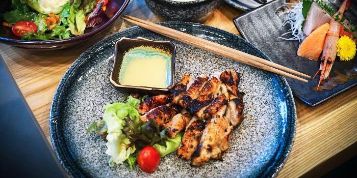 Yuzu Marinated Free Range Chicken from Jun Omakase in Raffles Place, Singapore