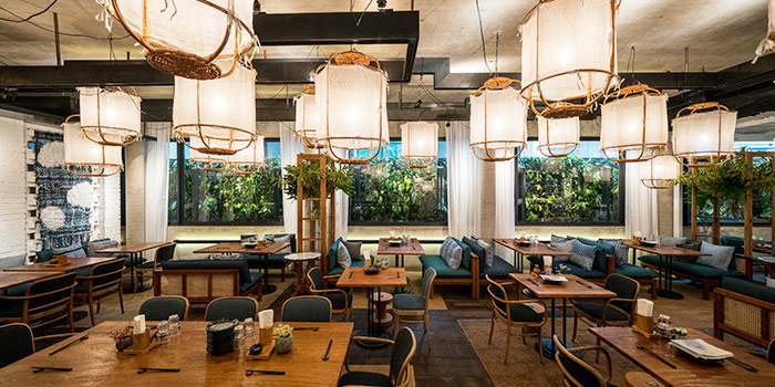 Interior at JYPSY on Martin Road in Robertson Quay, Singapore