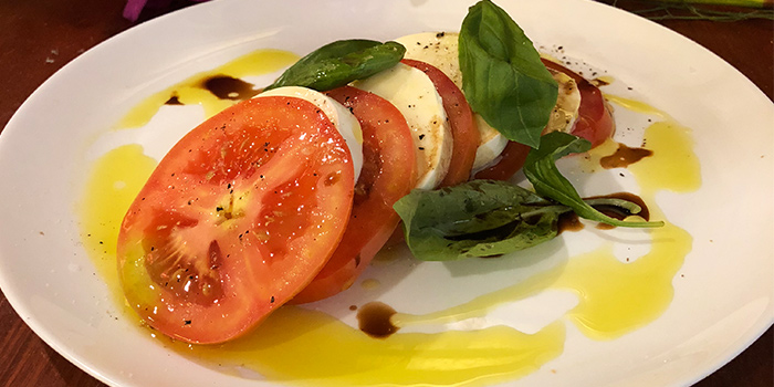 Mozzarella and Tomato Salad from La Petite Cuisine in Bukit Timah, Singapore