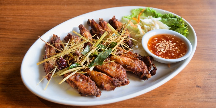 Fried Chicken with Thai Herbs from Mooks Thai Bistro at Hometeam NS Clubhouse in Bukit Batok, Singapore